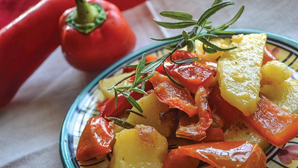 Peppers and Potatoes (serves 4)